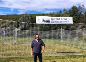 A la découverte du Bubble Foot, de l'Archery Game et du Laser Game en Ariège