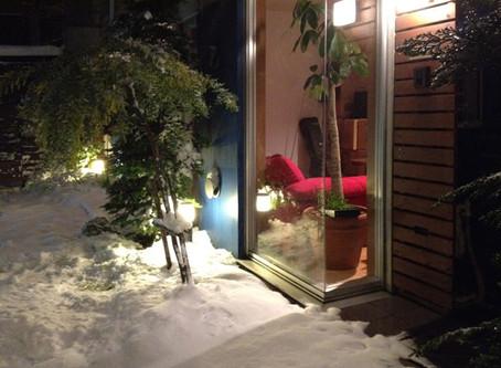 大雪の中のミッキーマウスマーチ