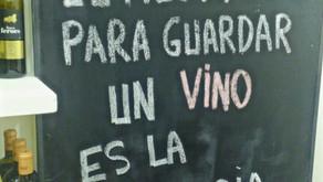 Las penas con vino son menos penas
