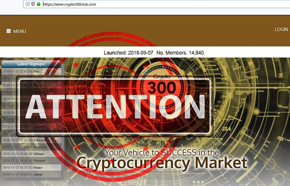 Crypto 300 Club AVIS