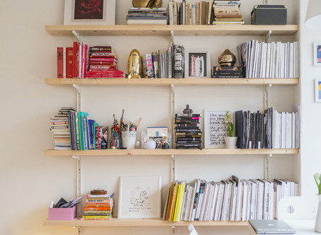 START YOUR AUTHOR LIBRARY WITH THESE BOOKS