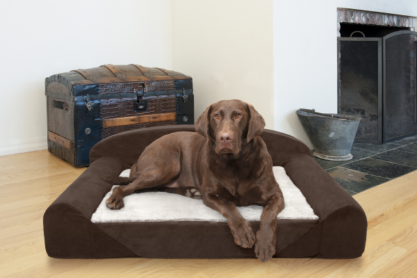 FurHaven Luxury Edition Sofa Pet Bed - Amazing High-Quality Orthopedic Bed for Dogs