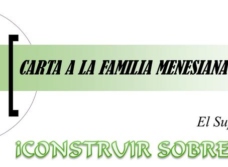 CARTA 21 A LA FAMILIA MENESIANA