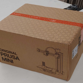 Our first Prusa Mini is here!