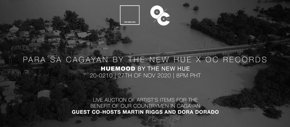 A special live auction Huemood episode 'Para Sa Cagayan'