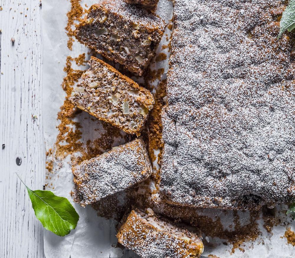 Pyragas Voveraitė, pyragas su obuoliais, receptas