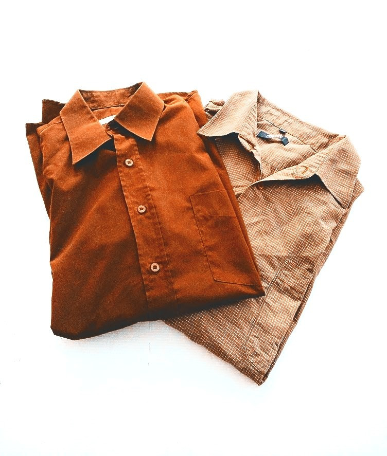 Upcycled mens shirts