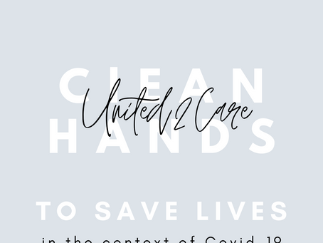 CLEAN HANDS SAVE LIVES!
