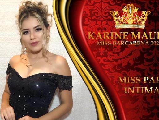 Karine Maués representará Barcarena no concurso de beleza Miss Pará Intimate