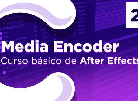 Adobe Media Encoder con After Effects - 25