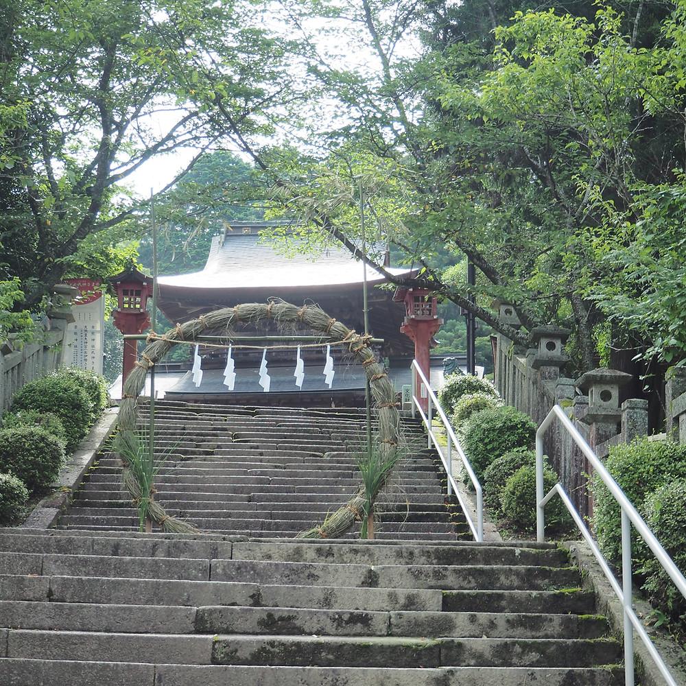 古熊神社の茅の輪