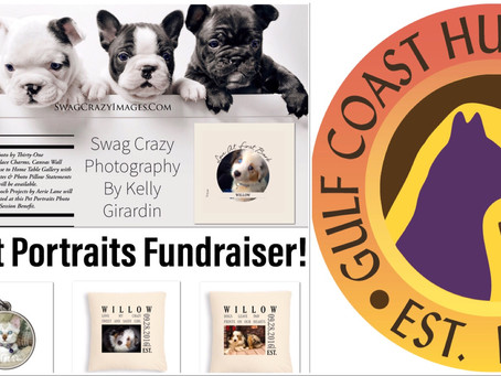Announcing a Fundraising Photo Session Featuring Your Pet!
