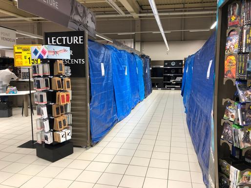 """La liste des produits """"essentiels"""" autorisés à la vente dans les supermarchés"""