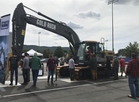 Penn College Digs Gold Rush Excavator