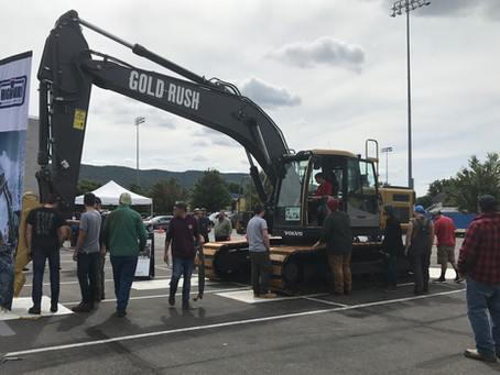 Penn College Digs Gold Rush Excavator