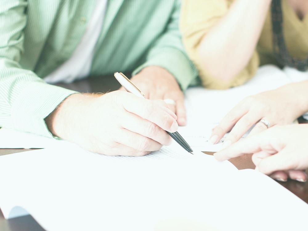 signing estate documents