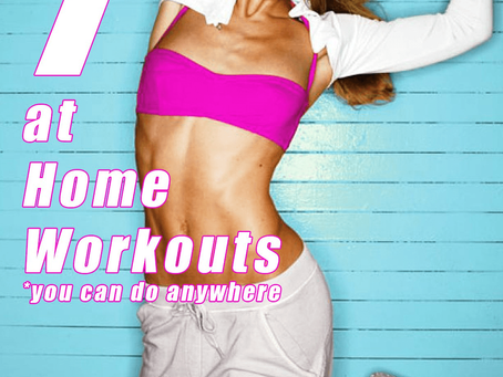 7 At Home Workouts That Will Help You Tone, Tighten and Trim Your Whole Body