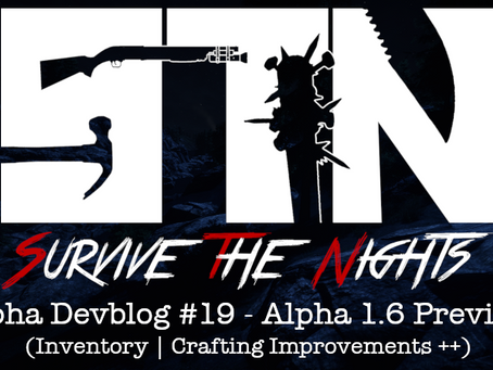 Alpha Devblog #19 - Alpha 1.6 Preview (Inventory | Crafting Improvements ++)