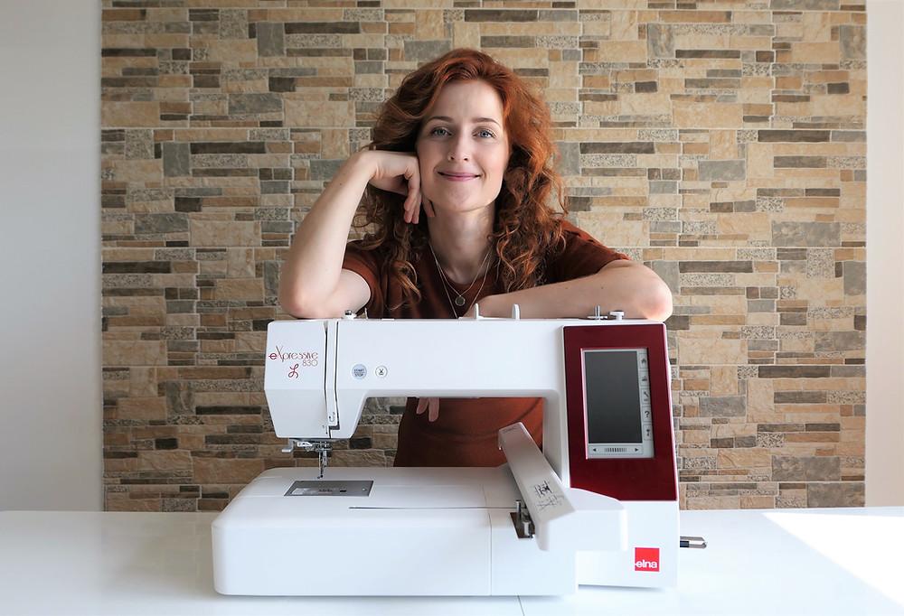 Elna Expressive 83L embroidery machine