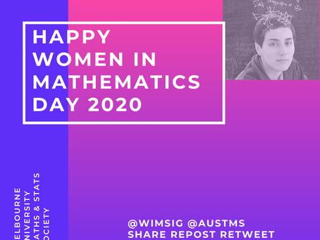Women in Maths Day 2020