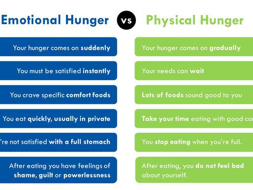True Hunger vs Emotional Eating