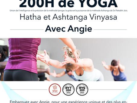 Un 200h de yoga, c'est quoi??