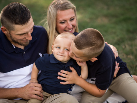 A Fall Family Session in Easton