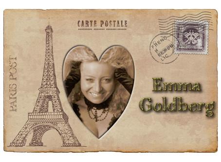 Postcards from Paris -  Multi Talented French Artist  -        Emma Goldberg