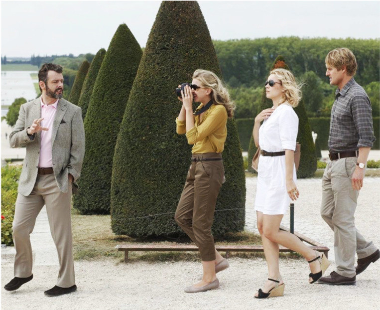 A day trip to Versailles in Midnight in Paris