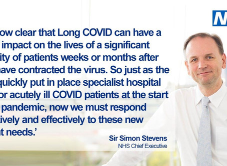 LongCovidSOS Respond to the NHS 5 Part Package of measures to help Long Covid  patients