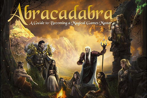 Abracadabra: A Guide to Becoming a Magical Games Master