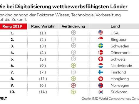 In einem Land vor unserer Zeit -  Deutschland und die Posse um die Digitalisierung