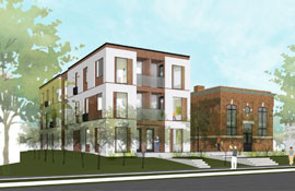 Two apartment buildings approved on Garfield Avenue