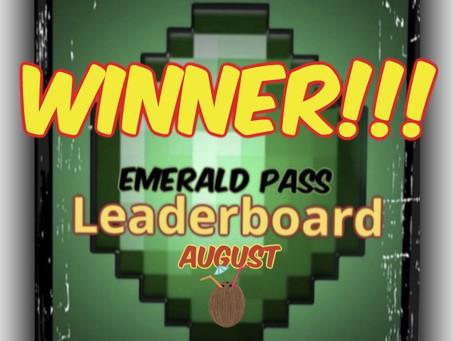 """MMG """"Emerald Pass"""" WINNER!!! (August)"""