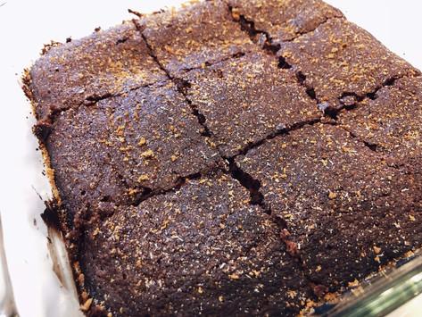 Simple Cinnamon Sugar Brownies (V/GF)