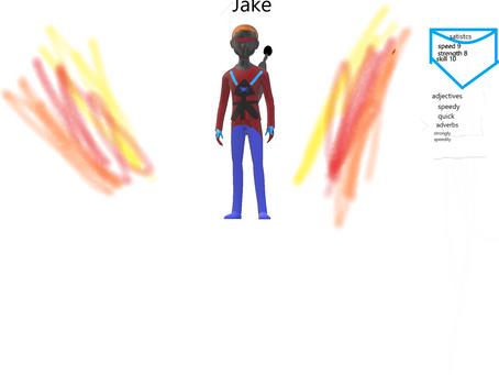 How to make Incredible Jake. Elijah (2SM)