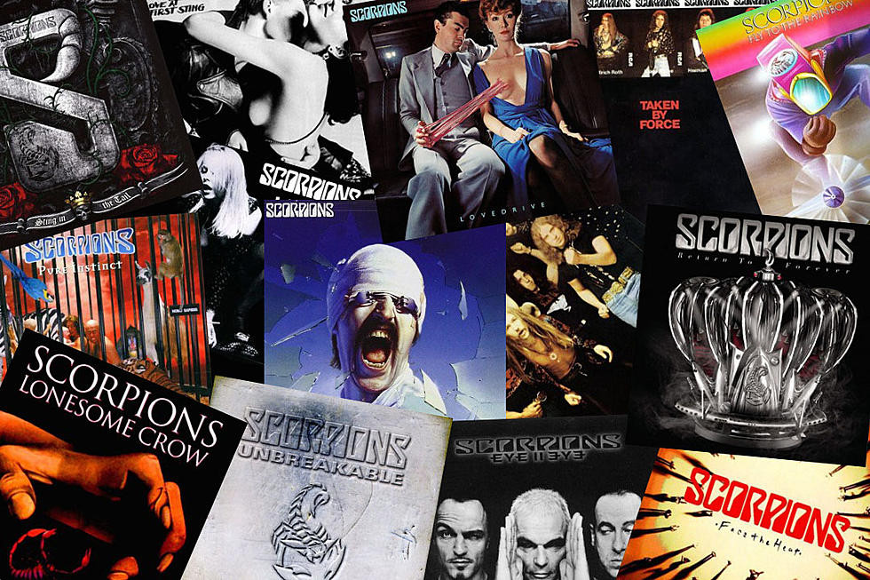 SCORPIONS ALBUMS FOR SHOW