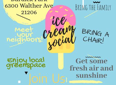 WNIA Ice Cream Social
