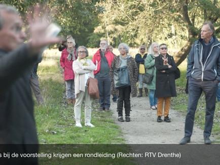 RTV Drenthe beleefde onze eerste ontmoeting voor de voorstelling in Schattenberg met ons mee