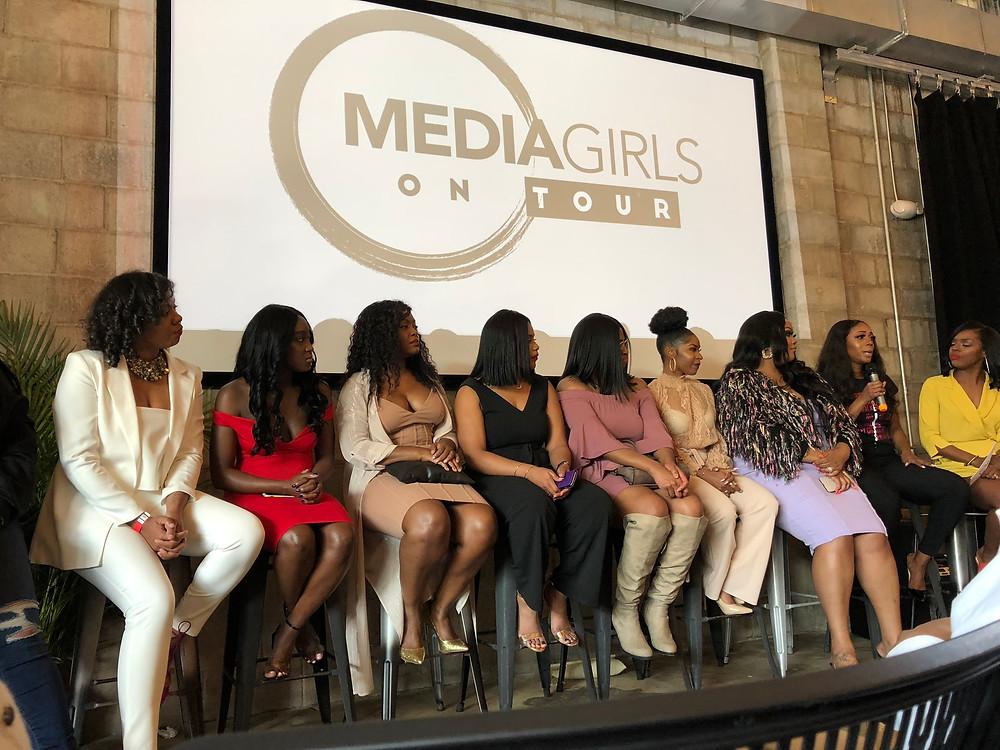 media girls on tour