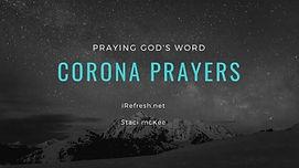 Praying over the Coronavirus