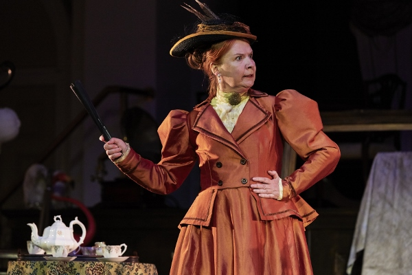 Sarah Ball  in Octagon Theatre Bolton's production of The Importance of Being Earnest