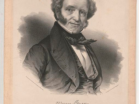 Our Dutch (Speaking) President Martin Van Buren