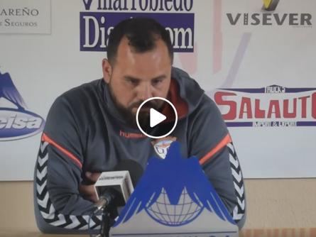 Escucha las declaraciones de David Freitas tras el CP Villarrobledo 3 CD Guadalajara 2