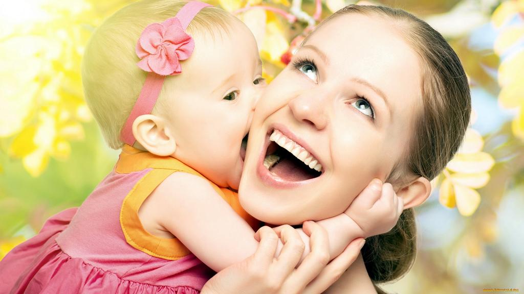 Картинки веселые мама и малыш