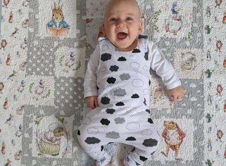 Baby Jersey Romper - 2 in 1 Leggings Pattern