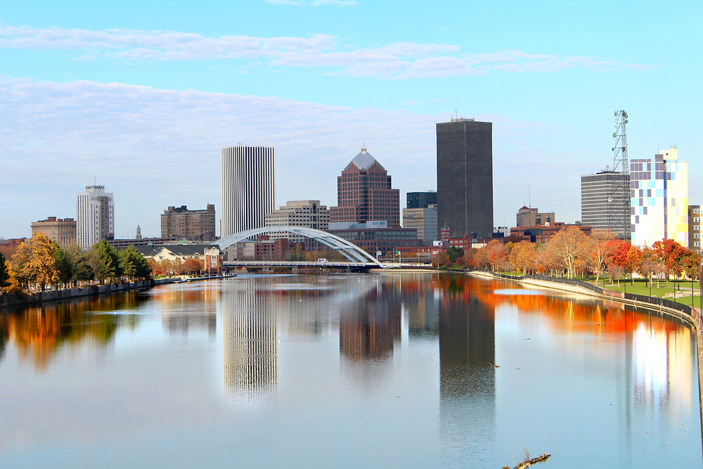 Rochester, NY in Autumn