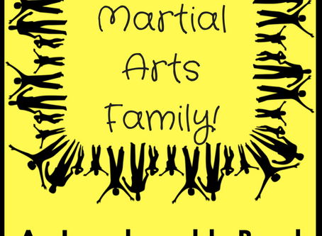 My Martial Arts Family