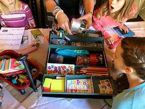 Girls' Bible Quilting Birthday Party