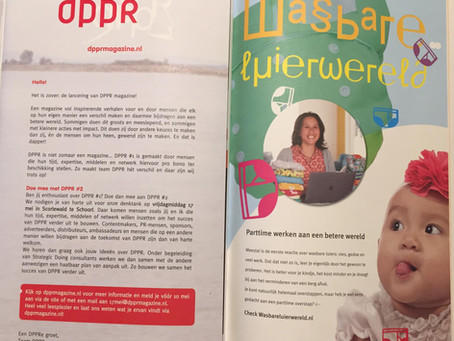 WasbareluierWereld in eerste editie van DPPR